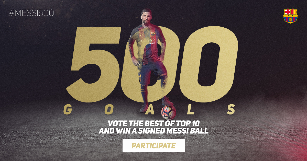 Which is Leo Messi's best goal for Barça?